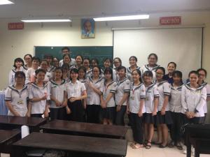 Lớp SpeedReading tại trường THPT chuyên Lê Hồng Phong - Nam Định