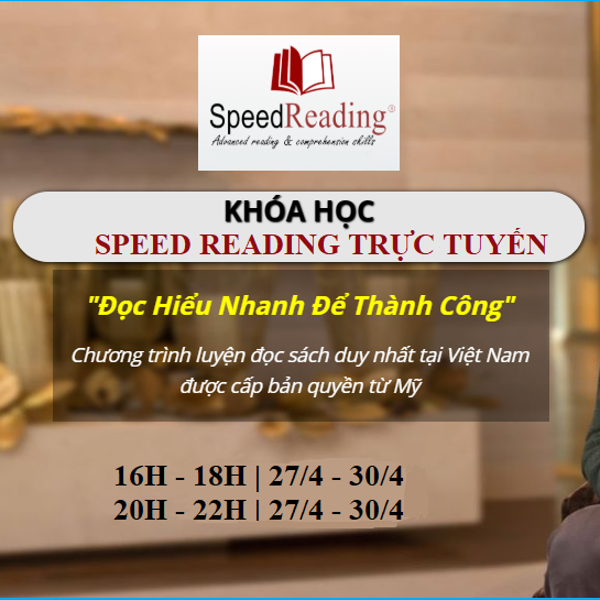 Khóa học SpeedReading trực tuyến